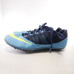 Nike Rival S Racing Track Cleats/Shoes - 10.5 Blue